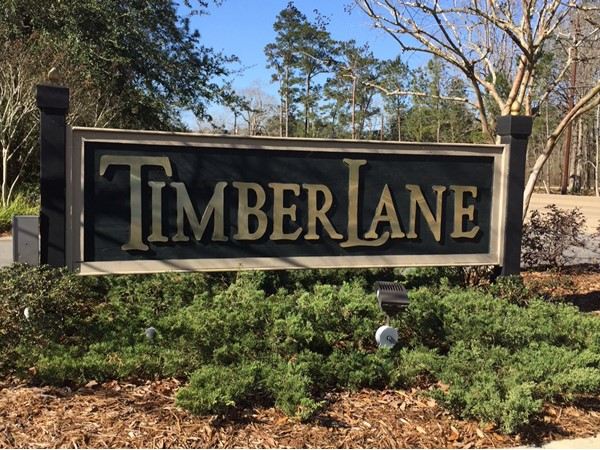 Welcome to TimberLane Subdivision