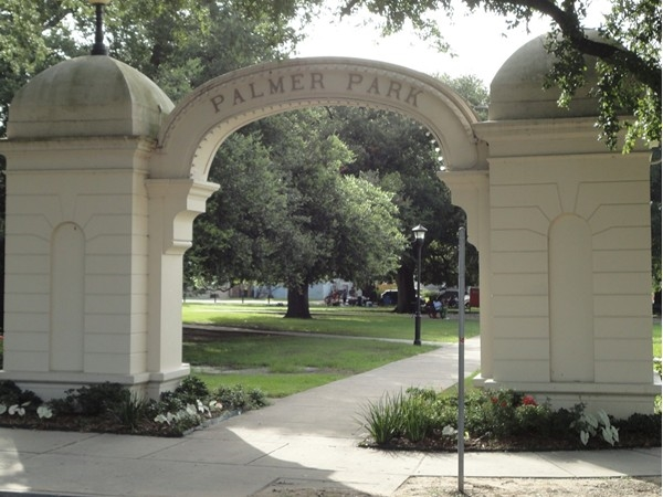 Palmer Park hosts a popular community arts market the last weekend of each month
