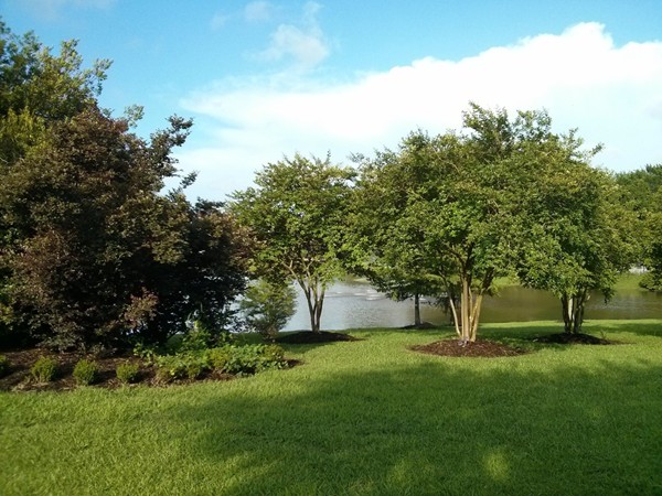 Lake view at Fountain Hill subdivision in Prairieville