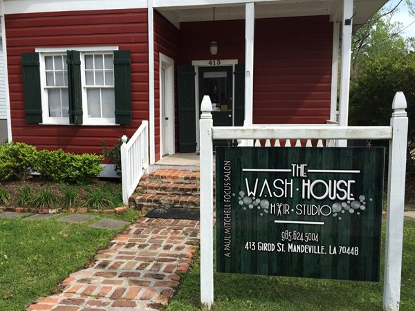 Love, love, love The Wash House! It's the best for hair styling and color