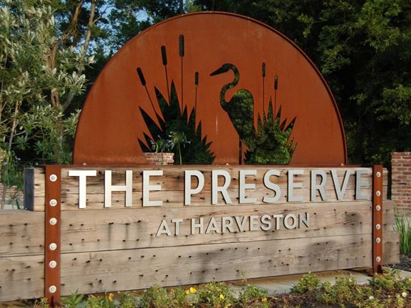 The Preserve at Harveston - an excellent new development off Bluebonnet