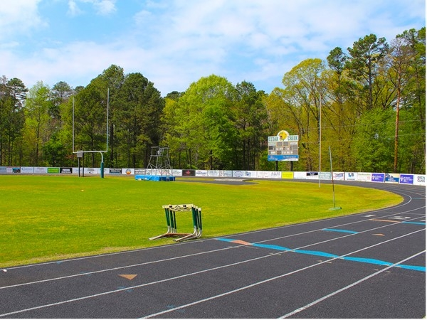 Track and Field at Cedar Creek School is just another aspect of the outstanding athletic programs