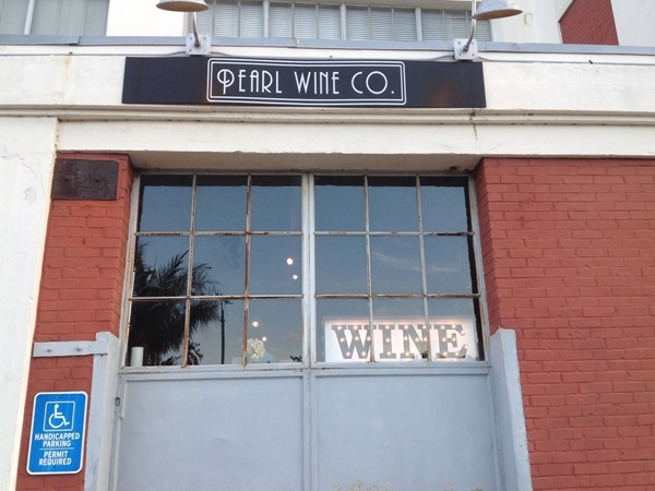 Pearl Wine Company in the American Can Company Building