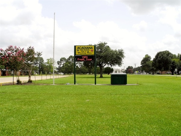 Acadiana high school front grounds lafayette parish for Acadiana home builders