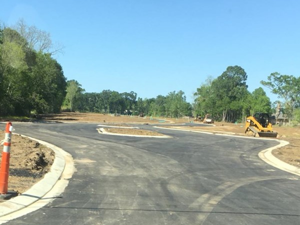 Roads are in! We'll be pouring slabs soon! Have you reserved your lot?
