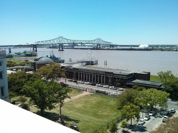 Mississippi River Bridge in Baton Rouge
