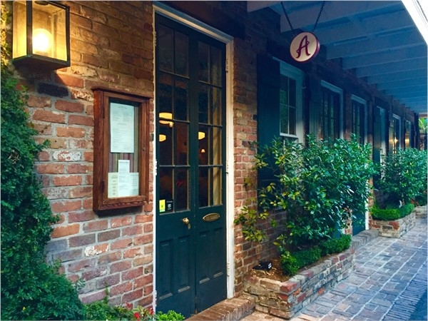 Angeline is a wonderful restaurant located in the charming Hotel Provincial in the lower French Quarter