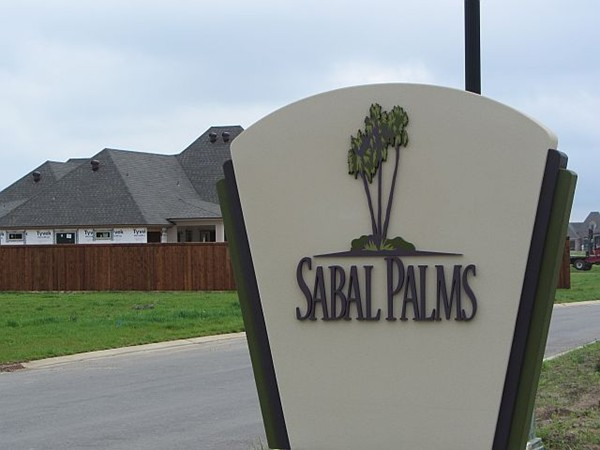 Sabal Palms subdivision in Youngsville