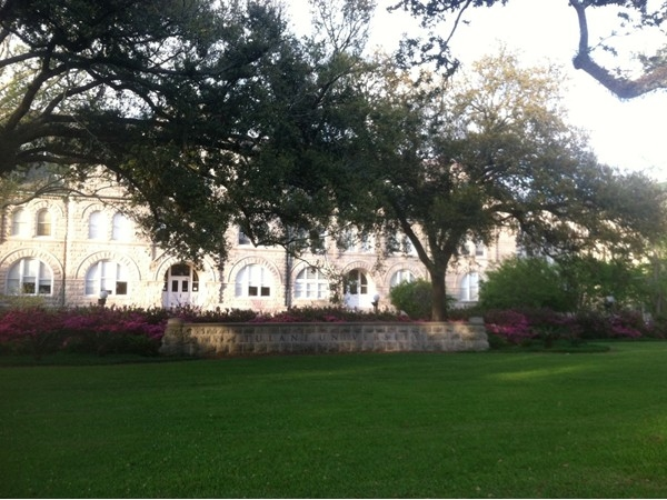 Tulane University on St.Charles Ave is located across the street from Audubon Park!