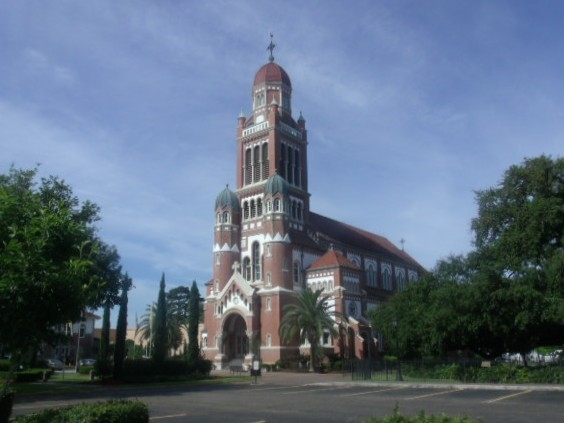 St. John the Apostle Cathedral in Lafayette, LA