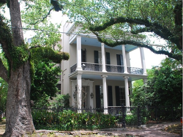 The Garden District features homes in a variety of sizes and character. Plenty of wooded yards
