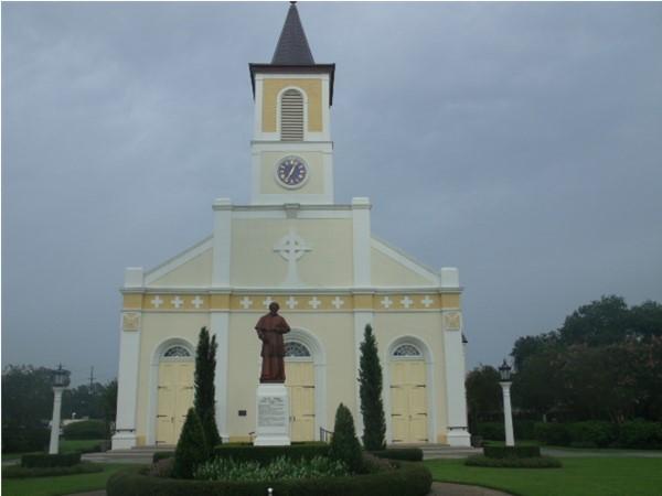 Eglise Catholique Saint Martin De Tours Mother Church of Acadien