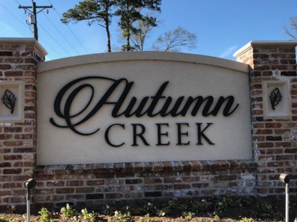 Autumn Creek is in a great location