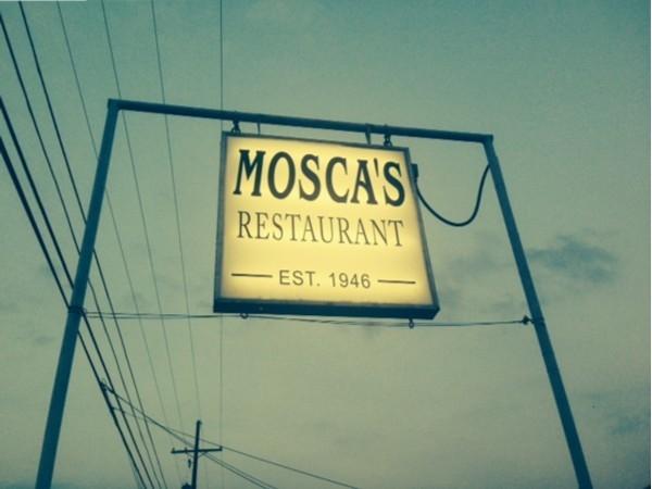Italian cuisine at Mosca's