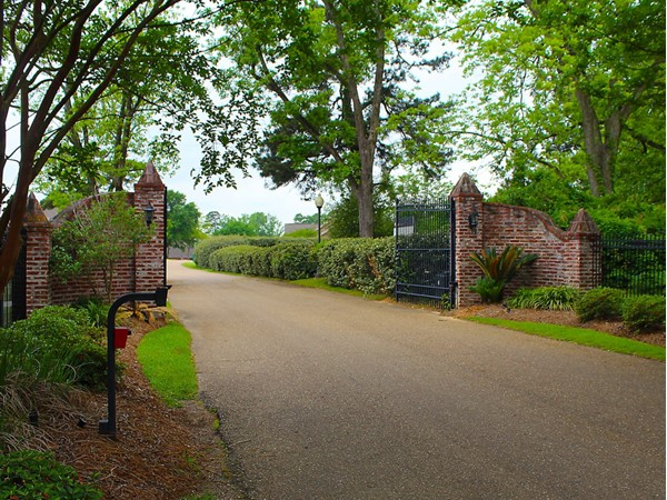 Chason Pointe is a gated neighborhood found in the Drew community