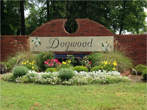 Front entrance at Dogwood South and Dogwood Park