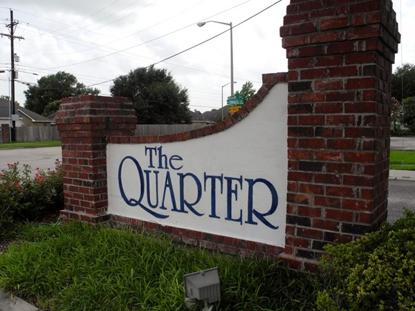 The Quarter - New Orleans styled neighborhood in Central Lafayette