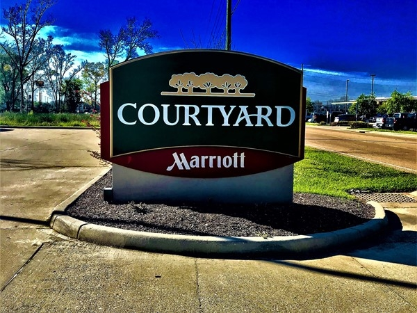 Welcome to the beautiful Courtyard Marriott