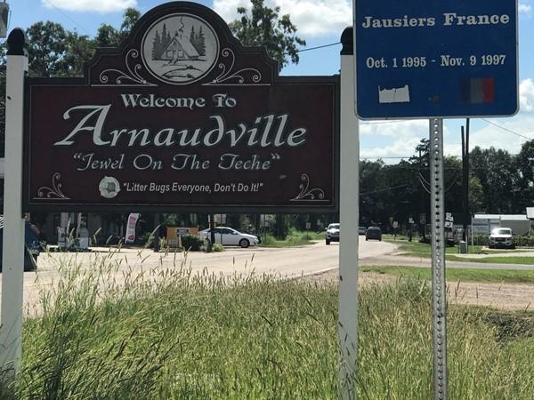"Arnaudville, La. The ""Jewel on the Teche"""