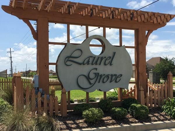 Laurel Grove entrance