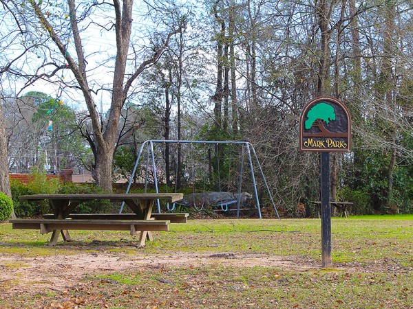 This small children's park can be found in the Belle Terre neighborhood