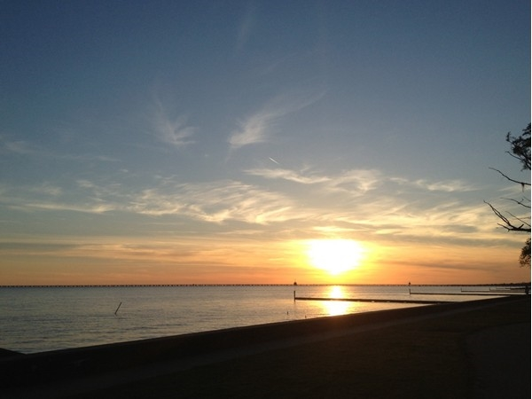 Another beautiful sunset on Lake Pontchartrain