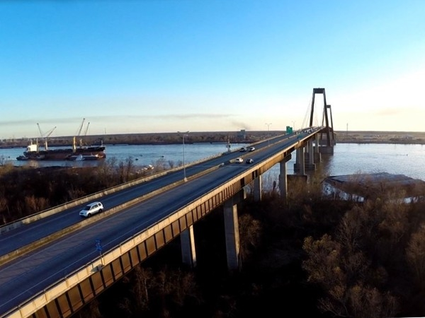 Hale Boggs Bridge in Destrehan