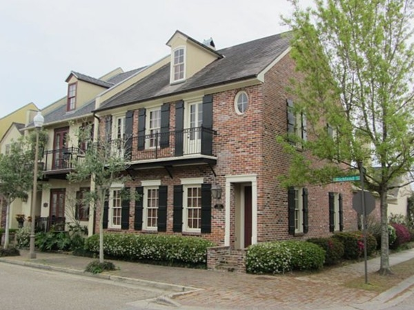 New Orleans style townhomes in the heart of River Ranch