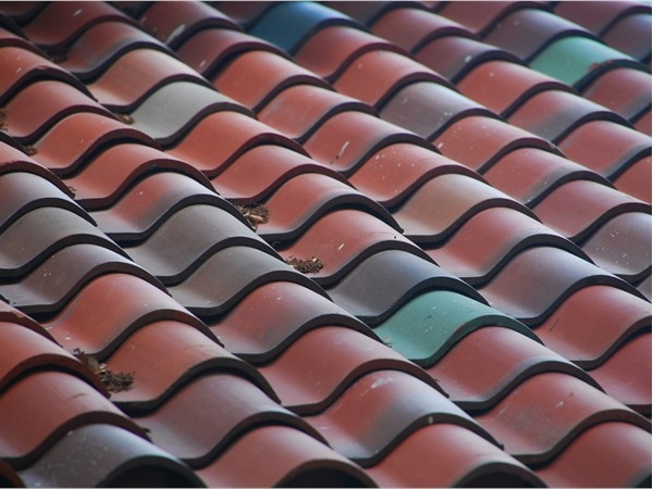 Old world charm of a tile roof