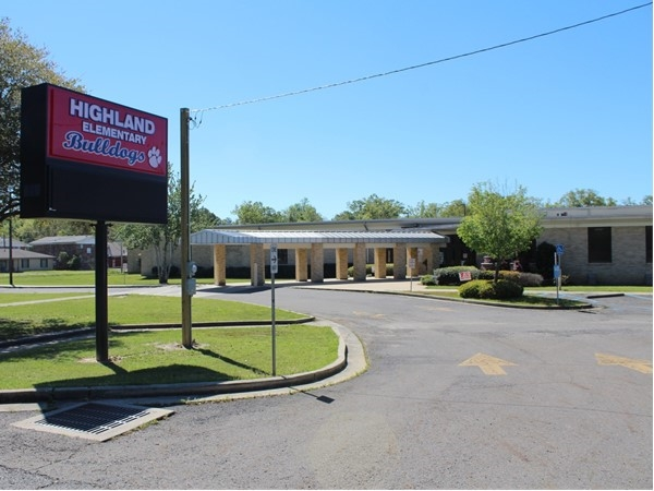 Highland Elementary School is located in West Monroe and hosts close to 300 students