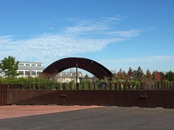 Crescent Park arch
