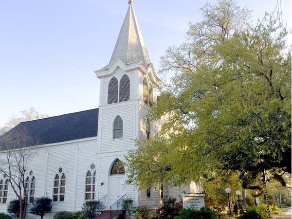 Covington Presbyterian Church on Jefferson Ave in downtown Covington.
