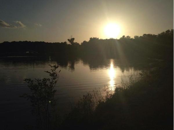 Sunset at Dogwood Lake