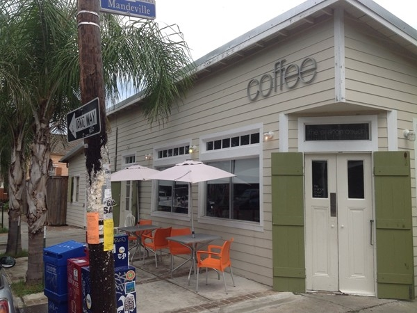 Orange Cafe for coffee on Mandeville Street in the Marigny
