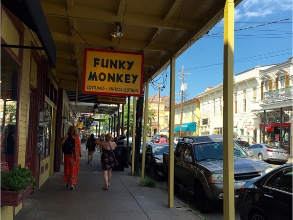 One of the many quirky shops along Magazine Street