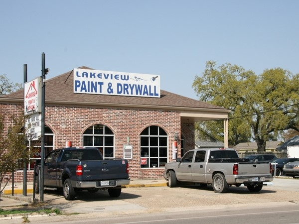 Local paint and drywall shop on West Harrison