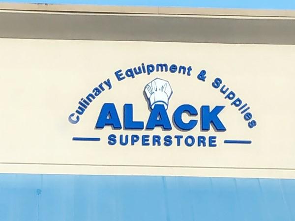 Alack Culinary Superstore. Favorite kitchen/outdoor kitchen store