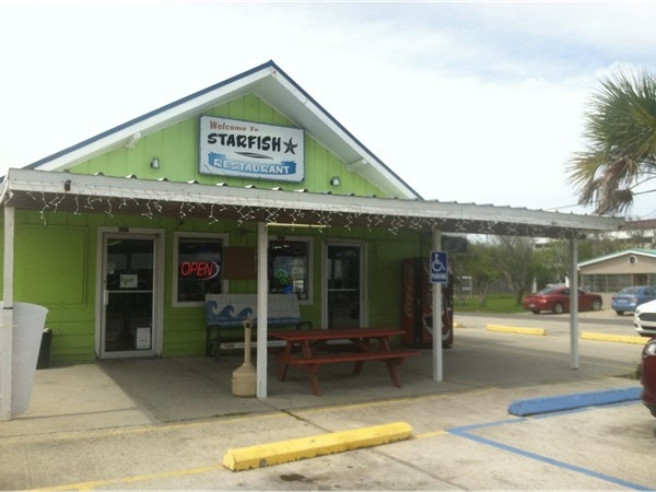 The Starfish Restaurant in Grand Isle is a popular place for locals and tourists!