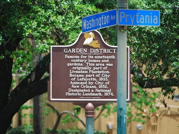 The Historic Garden District