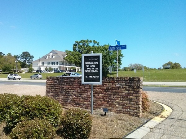 Jefferson Terrace home owners association is very active  Sign advertising  yard of the month. Jefferson Terrace Subdivision Real Estate   Homes For Sale in
