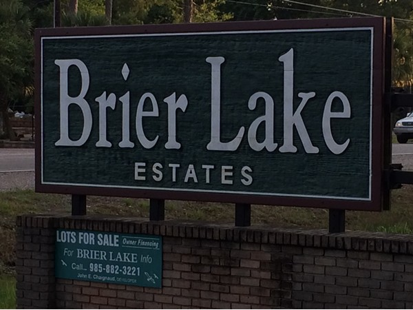 Brier Lake Subdivision has beautiful wooded lots, Lacombe