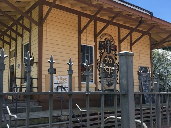 Train Depot Gift Store in Abbeville