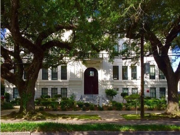 Cabrini High School on Esplanade Avenue in Bayou St. John