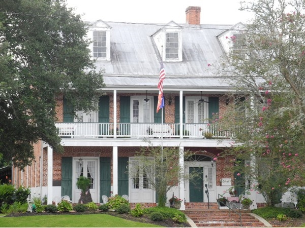 Old Castillo Hotel & Bed and Breakfast, circa 1840