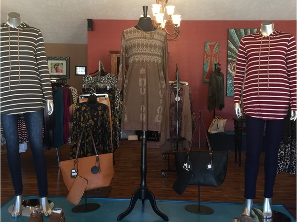 Fall items from Girlfriends Gift Shoppe