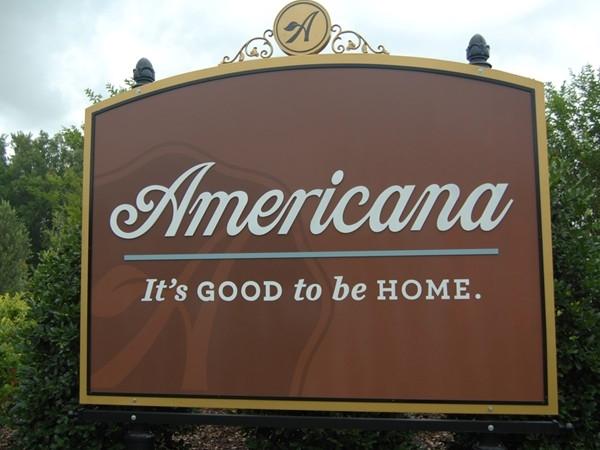 Americana - Zachary's newest planned communities
