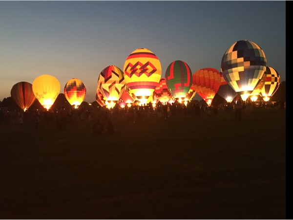 The Red River Rally Balloon Festival