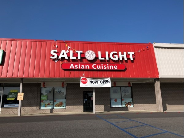 Great food and atmosphere at Salt & Light Asian Cuisine in Gonzales