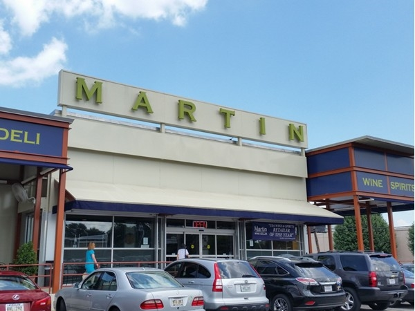 Martin Wine Cellar is a popular destination for spirits, gourmet food and deli sandwiches