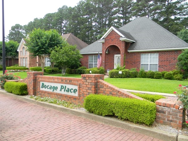 Bocage Place embraces a peaceful welcoming atmosphere